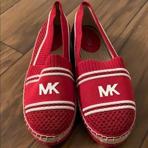 Raya Espadrille red shoes